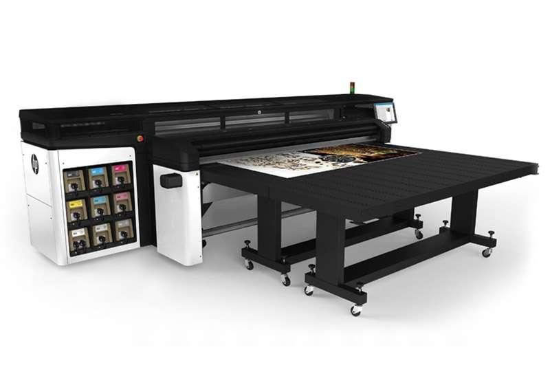HP R2000 Plus Rigid Printer 98 Inches Wide Format HP Printers