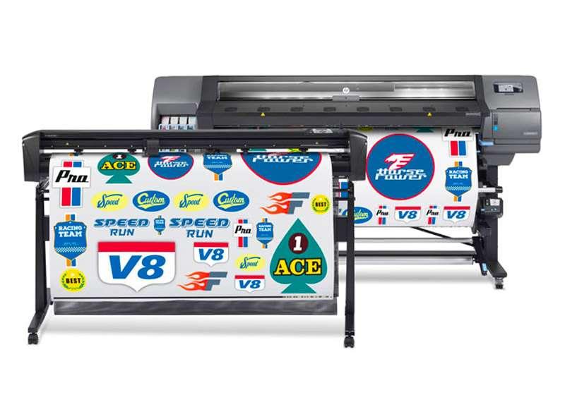 HP Latex 335 Print and Cut Solution HP Latex 335 Print and Cut Bundle 64 Inches