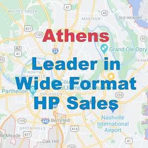 HP large format printer sales Nashville wide format printer sales Nashville Tennessee hp distributors